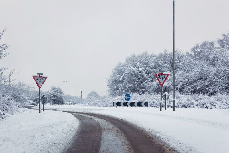 Ice or snow road traffic accident claims