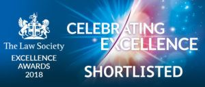 The Law Society Excellence Awards 2018