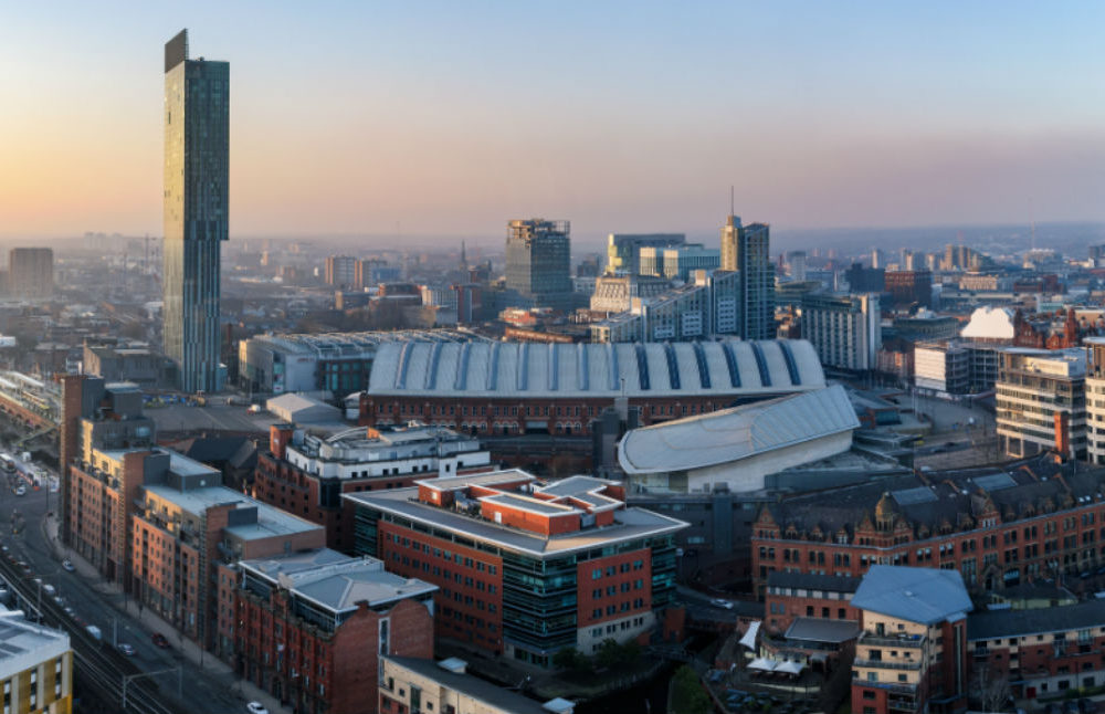 Manchester: a city that's heading to new heights