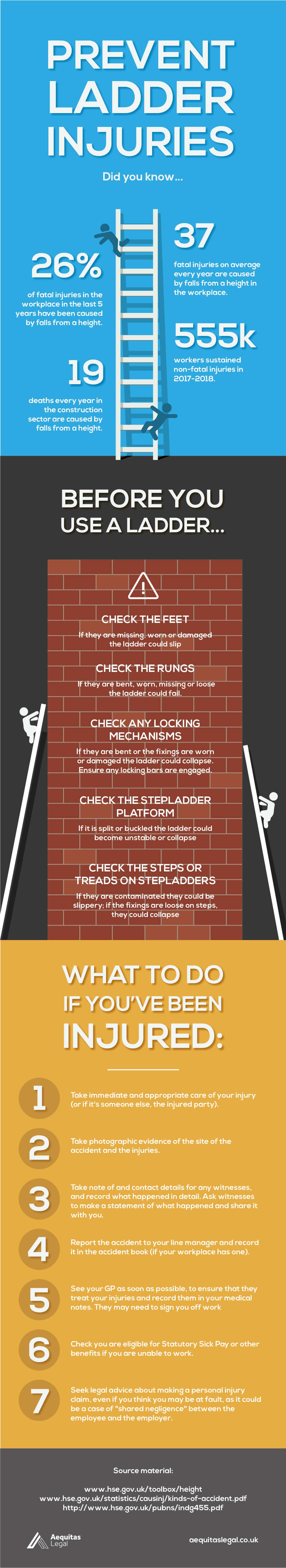 Ladder Infographic