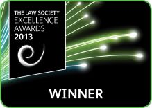 The Law Society Excellence Awards 2013